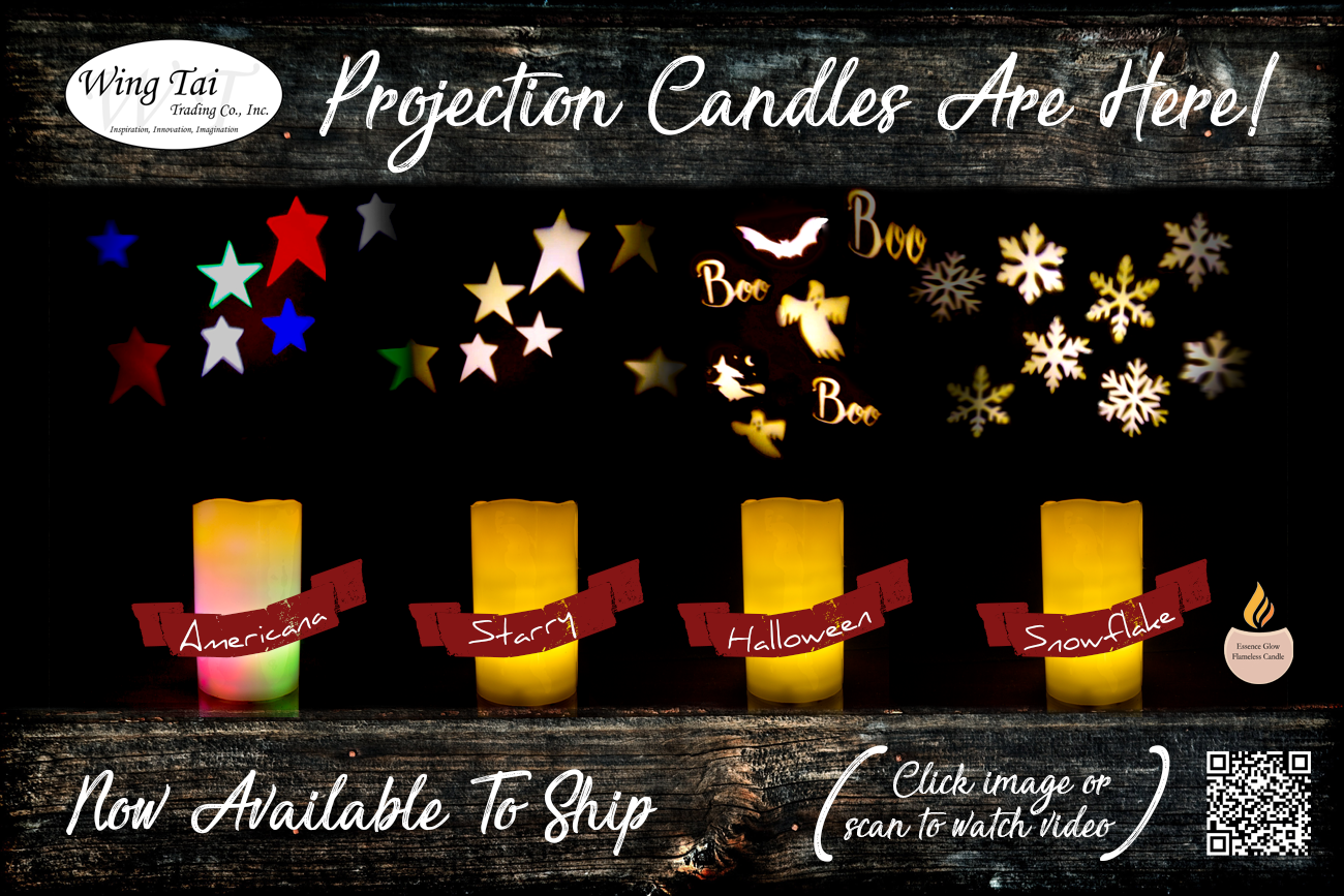 2018.10.12 - Projector Candles Are Here