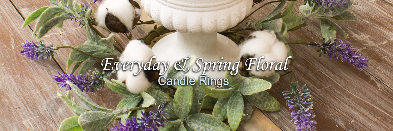 2019.05.02 - Everyday and Spring Floral_Candle Rings