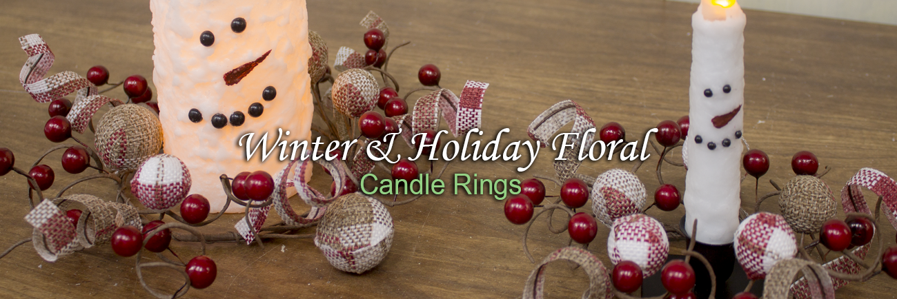 2019.05.08 - Winter and Holiday Floral_Candle Rings